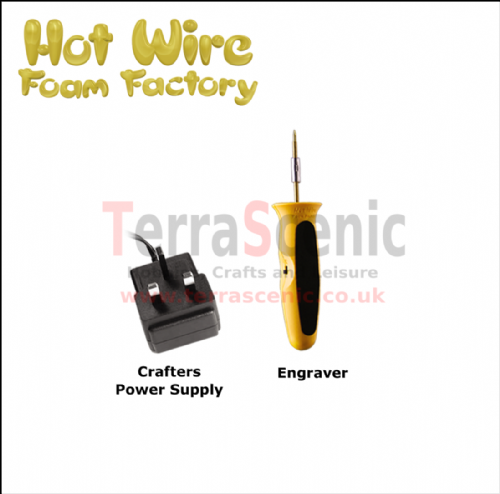 Polystyrene Cutter Engraver Craft Kit Hot Wire Foam Factory